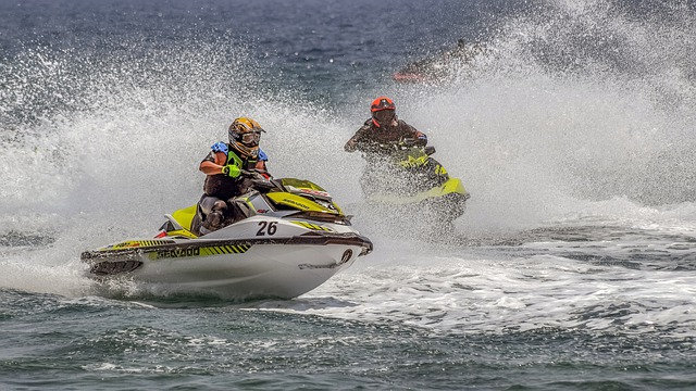 Les types de jet-skis